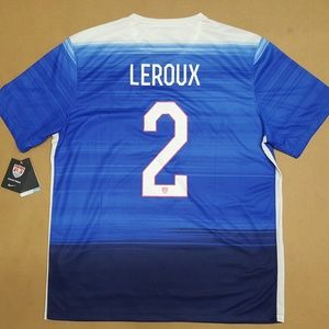 Nike Leroux USA SS Away Stadium Jersey Men's Sz XL